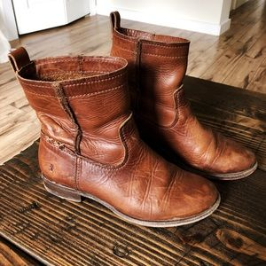 Leather ankle Frye boots